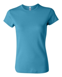 Bella 1001 Ladies Rib Short Sleeve T